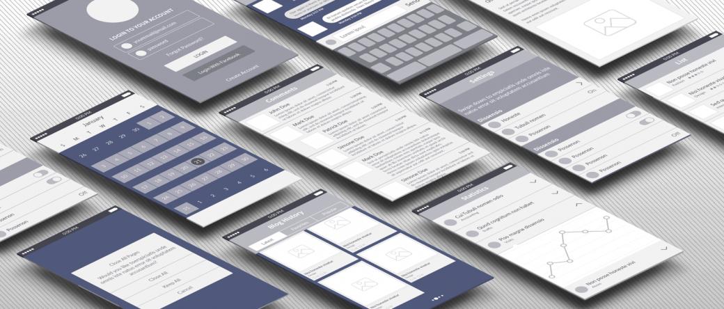 """アプリケーションが""""売れる""""ためのUI設計・構築サービスです。情報は「見せ方」で決まります。"""